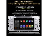 Ford Cars Android Stereo for Ford Kuga Mondeo Transit Focus Fiesta Model Google Map internet