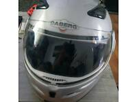 Small front lifting crash helmet for motorcycle
