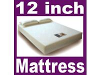 Memory Foam Mattress for 3ft single bed and 12 inch thick