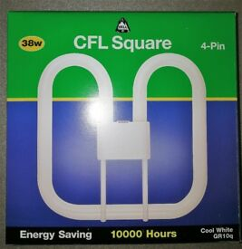 BELL 38w SQUARE 4 PIN CFL