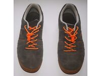 Mens Classic Dunlop 'Lambo 20' Suede Trainers Grey/Orange UK Size 10
