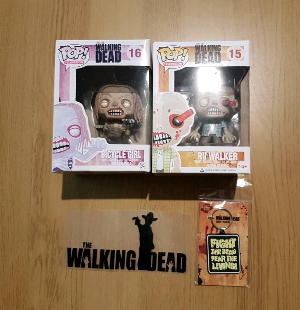 Walking Dead Pop Figure and merchandise