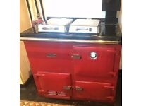 Rayburn GD80 cooker, hot water and heating - natural gas