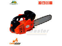 "26cc petrol chainsaw, 10"" top handle control"