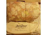 DOUBLE DUVET with carrying bag