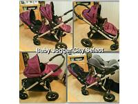 Baby Jogger City Select - Single/Double Buggy