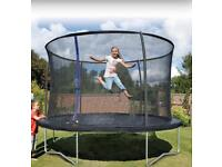 Large round tent with net