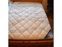 Double Pocket Spring Mattress 1 year old