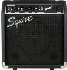 Fender Squier SP 10 Guitar Amp - Great Guitar Amp!