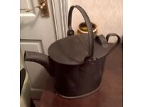 WATERING KETTLE, cast iron watering kettle, kettle,