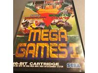Mega drive game mega games 1