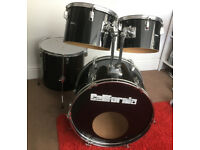 CP California Percussion Drums in Black, Part kit or spares