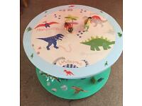 CHILD'S 'DINOSAUR' TABLE
