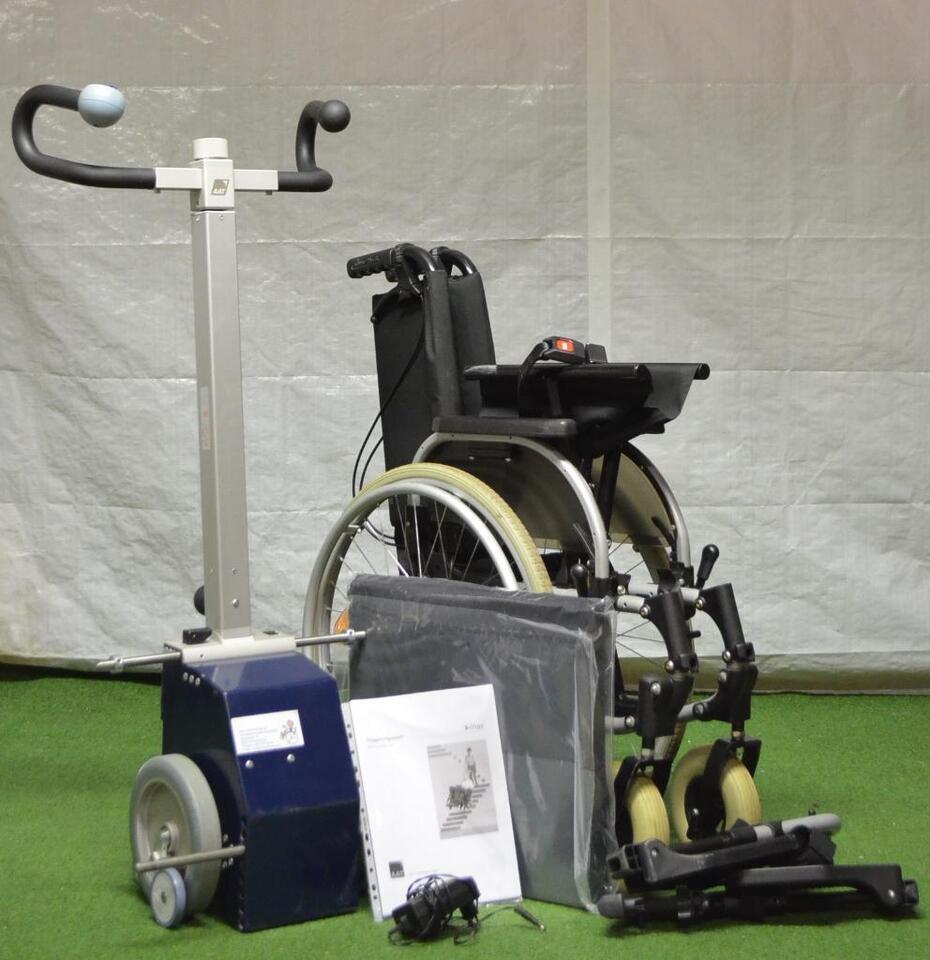 AAT Treppensteiger S-Max AAT mit Rollstuhl 46-48 cm NEUE Batterie in Baden-Württemberg - Ravensburg