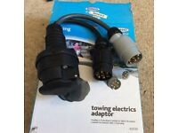 Towing adapter electrics caravan trailer