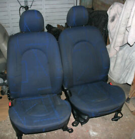Ford Ka Sport front seats