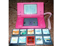 Nintendo DSI Console And 10 Games