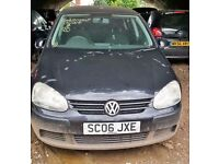 Volkswagen Golf, Black Colour, year 2006, quick sale