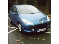 Peugeot 307 1.4 petrol 5 door hatchback *LONG MOT*