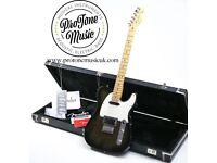 1991 USA Fender Telecaster Plus Ebony Frost Metallic & Hard Case