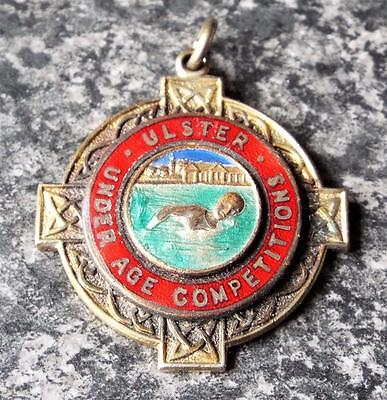 Vintage Ulster Swimming Under Age Competition Medal