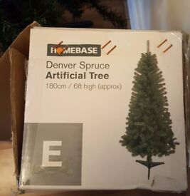 Homebase 6ft Christmas xmas tree