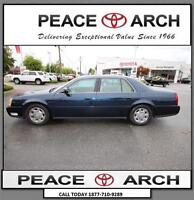 2002 Cadillac DeVille Leather, Sunroof, Power Front Seats
