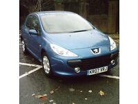 Peugeot 307 1.4 petrol 5 door hatchback *LONG MOT*
