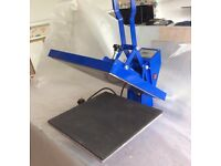 CLAM Heat Press Machine HPC480 38 x 38cm HIGH PRESSURE Sublimation T-shirt Print for sale  Aylesbury, Buckinghamshire