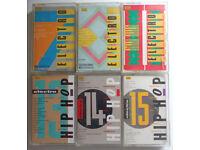 Electro 7 8 11 13 14 & 15 - Six Cassette Job Lot Bundle for £50 - QUICK SALE !