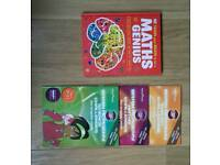 Assortment of learning books.