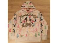 "Brand new authentic Christian Audigier men's luxury ""Clown"" designer hoodie. Large"