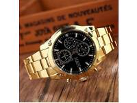Mens luxury stylish watch