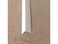 White Plastic Angle