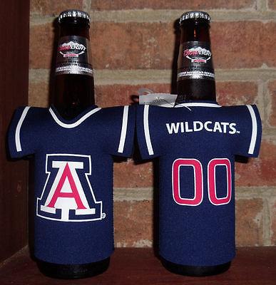 Arizona University Wildcats Bottle Jersey Coolie Koozie Wildcats Bottle Jersey