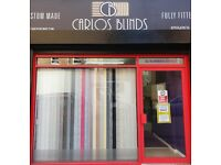 Carlos Blinds Free Measuring & Fitting (Slats from a £1.00)