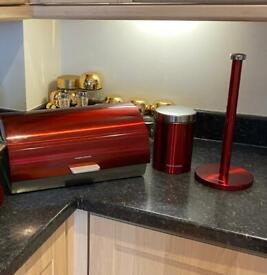 delivery)(Morphy Richards Accents 3Piece Storage Set