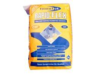 CHEAPSTE TILE ADHESIVE OFFER FLEXIBLE WHITE OR GREY WALL AND FLOOR RAPIT SET