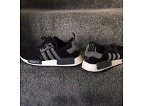 Adidas NMD Reflective Brand New Dark Grey / White / Black Size 9.5UK
