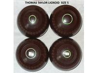Lawn bowls outdoor or indoor size 5 (2 sets)