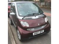 Smart city coupe 698cc automatic gears