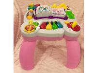 Leap Frog Musical Table with lights sounds and instruments