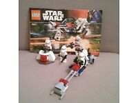LEGO Star Wars 7655 Clone Troopers Battle Pack 2007.