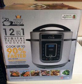 12 - in -1 Digital Pressure Cooker BNIB