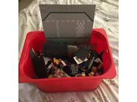 Large bucket of Lego