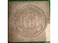 Man United Flag stone