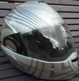 'Shark' crash helmet - size small