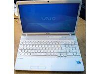 Sony Vaio VPCEB4L1E, I3 2.53, 4GB RAM, 500GB HARD DRIVE ON WIN 7
