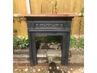 Victorian Fire Surround C1889 (Cast Iron)