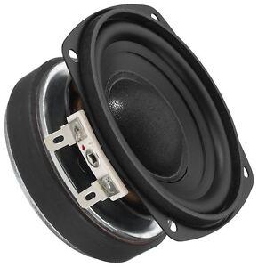8cm Mini Bass Lautsprecher 80mm Mitteltöner Monacor SPH-75/8